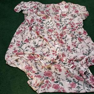 Torrid flowered tunic